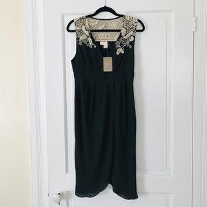 Meadow Rue Midi Black Dress